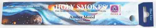 Holy Smokes Amber Mond Blue Line